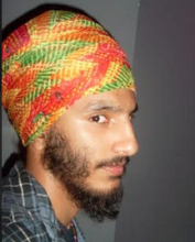 Patterned turban trouble