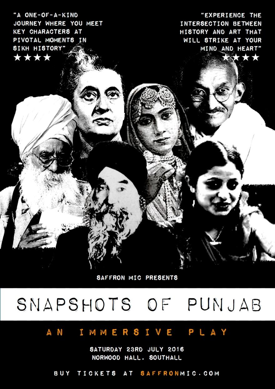 snapshots of punjab poster